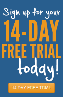 Sign up for your 14 Day Free Trial Today!