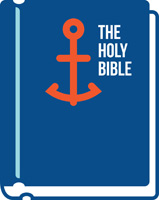 Bible Clip-Art The Holy Bible with anchor on cover