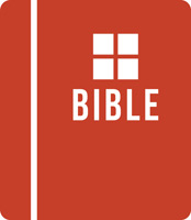 Bible Clip-Art graphic style red Bible