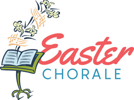 Christian Easter Graphic Clip-Art with Easter Chorale caption