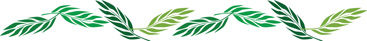 Palm Sunday Clip Art Image of border of palm branches