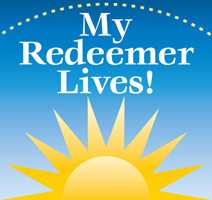 Sun with Redeemer Lives Caption