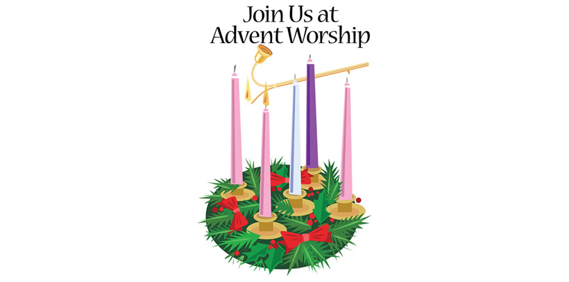 join us Advent wreath clipart