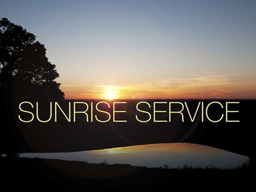 Easter sunrise service clipart easter images for your religious