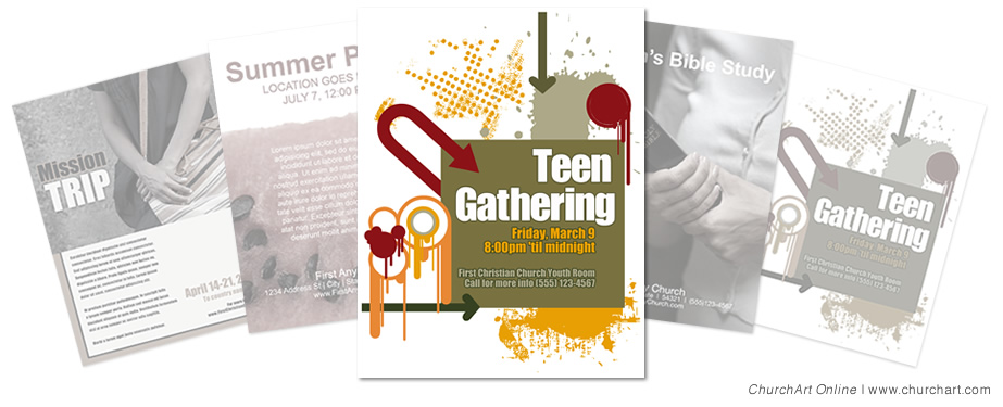 Church Event Flyer Templates | ChurchArt Online